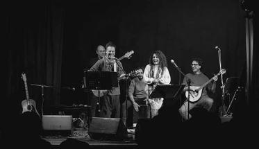 Ripostiglio delle Scope band durante un live