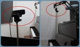 Doppia webcam per la lezione di musica online