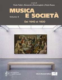 Copertina libro Musica e Società vol. 2, dal 1640 al 1830