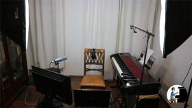 Set up per lezione di pianoforte online