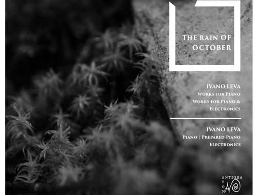 Copertina disco di Ivano Leva: The Rain of October