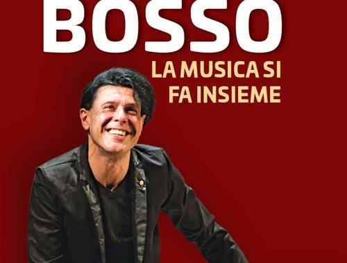 copertina rossa del libro EZIO BOSSO La musica si fa insieme