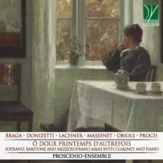 copertina del disco Ô doux printemps d'autrefoi, Proscenio Ensemble