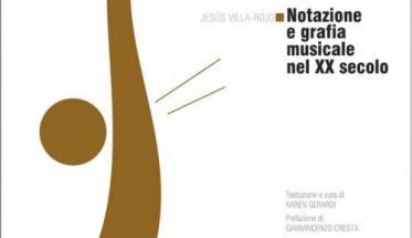 Copertina libro Notazione e grafia musicale nel XX secolo