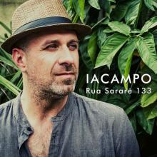 Marco Iacampo sulla copertina del disco: Rua Sararé 133