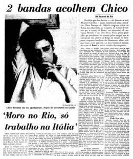 """giornale """"O Estado de S.Paulo"""" del 21.3.1970"""