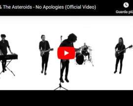 la band Kreky & The Asteroids in copertina del video No Apologies