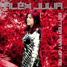 Alex Julia nella copertina del disco Better Part of Me Ep