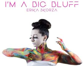 copertina del disco diErika Skorza: I'm a big bluff