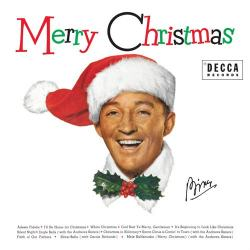 Bing Crosby in copertina del disco White Christmas