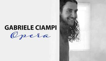 Gabriele Ciampi in copertina del disco Opera
