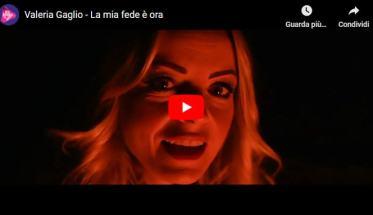Valeria Gaglio in copertina del video La mia fede è ora