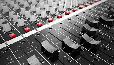 Mixer per la registrazione musicale