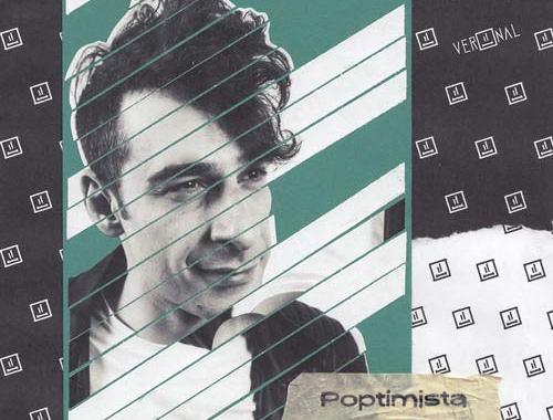 VERONAL in copertina del suo disco Poptimista