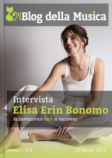 Elisa Erin Bonomo in Copertina su Blog della Musica