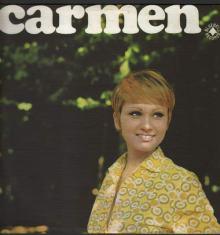 Carmen Villani in copertina del disco Carmen del 1966