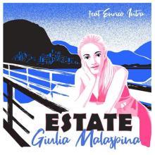 Copertina disco ESTATE di Giulia Malaspina