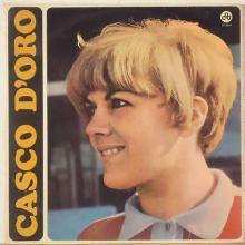 Caterina Caselli in copertina del disco Casco d'Oro