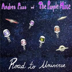 copertina dell'ep di Andrea Pizzo, Road to Universe