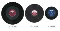 le varie dimensioni dei dischi in vinile