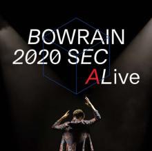 copertina del disco di BOWRAIN: 2020 Seconds Alive
