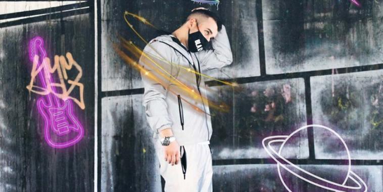 Il rapper Axel Blue