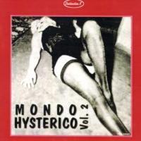 copertina con fondo rosso del disco Mondo Hysterico Vol. 2