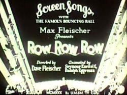 Screen songs
