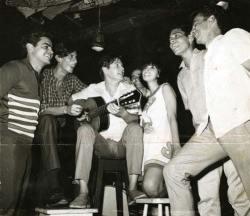 Tom Jobim, Nara Leão e Chico Buarque