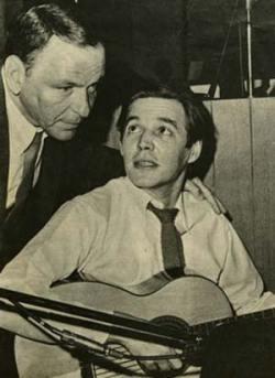 Tom Jobim e Frank Sinatra