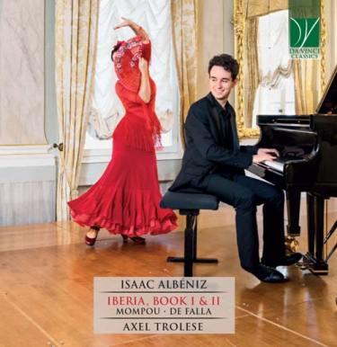 La copertina del disco di Axel Trolese