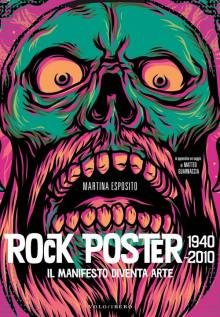 copertina del libro di Martina Esposito: ROCK POSTER, 1940-2010