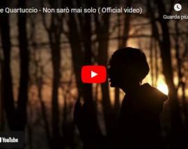 copertina del video di Simone Quartuccio: Non sarò mai solo