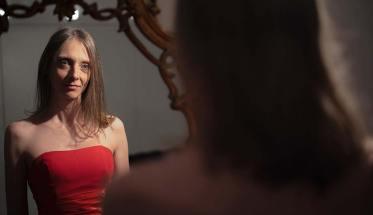 Roberta Usardi allo specchio