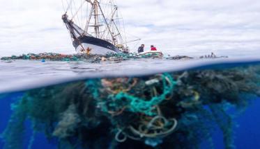 Una barca sull'oceano per Giornata mondiale degli Oceani