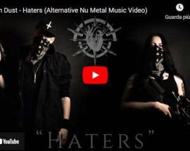 I Rest In Dust in copertina del video Haters