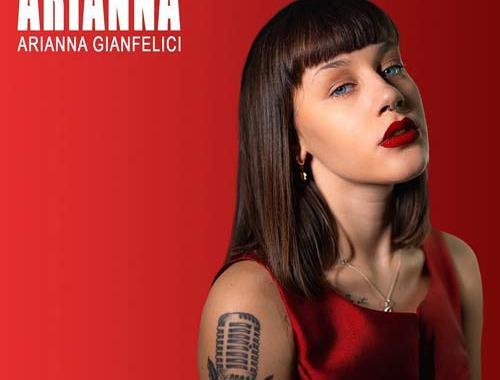 Arianna Gianfelici in copertina del disco omonimo