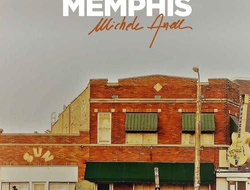 copertina del disco di Michele Anelli, Sotto il cielo di Memphis