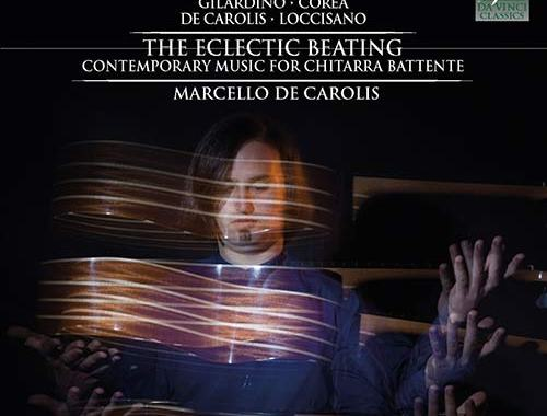 copertina del disco di Marcello De Carolis: The Eclectic Beating