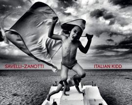 copertina disco di Alex Savelli e Ivano Zanotti: Italian Kidd