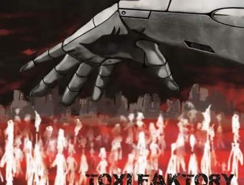 Copertina del disco dei Toxi Faktory: Massive Lies