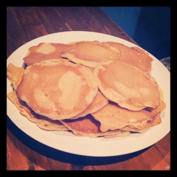 Moelleux les pancakes !