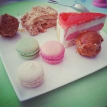 Et très jolis desserts !