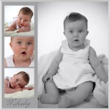 portrait déco bébé