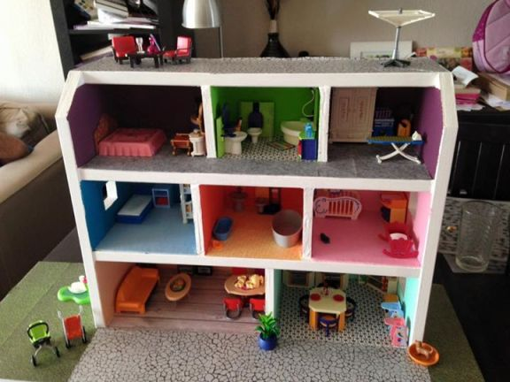 maison playmobil meublée 1