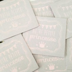 mini cartes princesse