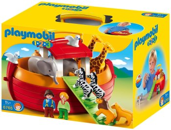 Arche de Noé Playmobil 123 28€08 chez Amazon