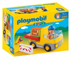 Camion playmobil 123 10€37 chez Amazon