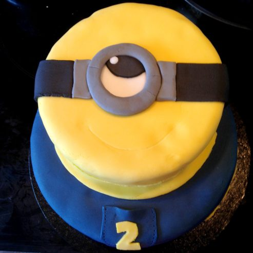 gateau-minion