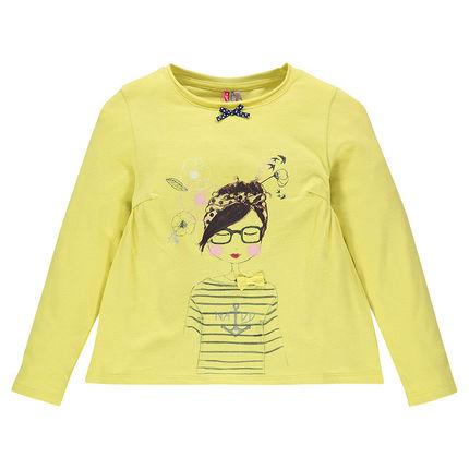 t shirt jaune 5€98